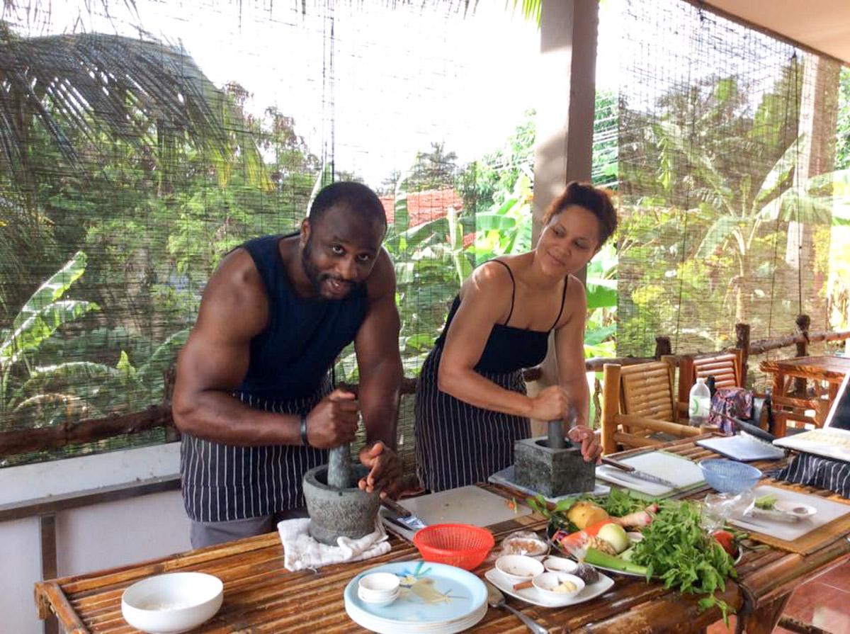 Idjangs Kitchen Thai Cookery Thai Cooking Classes Koh Tao Thailand