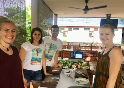 Thai Cooking Class Photos of Customers