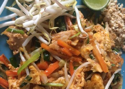 Pad Thai With Papaya