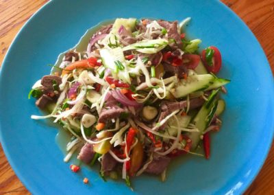 Thai spice Beef fillet salad